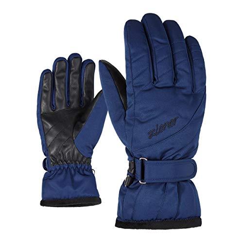 Ziener Gloves Kileni Gants de Ski pour Femme Taille Unique Bleu Classique