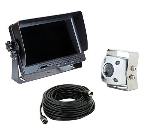 VSG IP69K-Professional/extrem robust/höchste Schutzklasse IP69K / 12-24 Volt / 154° & 600TV Linien/Heavy-Duty/inkl. 20m Kabel / 2 Videoeingänge/PRO-Expert Serie