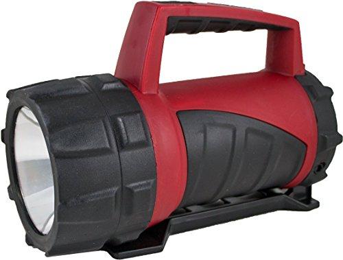 Varta 3 Watt LED Industrial Beam Lantern 4D Handlampe Taschenlampe Laterne Arbeitsleuchte Flashlight Werkstattlampe (High Performance LED - Resistent gegen Öl, Benzin und Diesel - mit Standfuß)