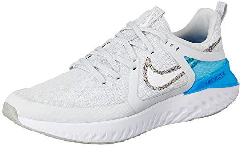 Nike Legend React 2, Zapatillas de Running para Hombre, Wolf Grey/Multi/Color/White/Blue Hero, 42.5 EU