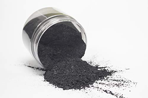 "462g/16.5oz (Bulk Pack)""Black Onyx"" Mica Powder Pigment 11(1.5oz/42g Containers) Black Diamond Pigments"