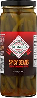 Tabasco Spicy Green Beans, 16 Ounce (Pack of 6)