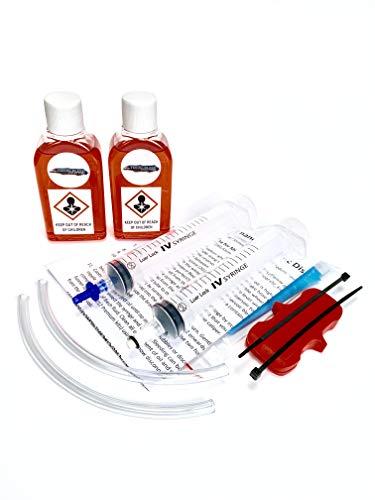 TBS Shimano - Kit de purga de frenos hidráulicos y aceite mineral,...