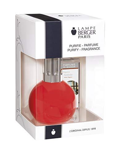 Lampe Berger 4429 Coffret Bingo Rouge Diffuseur De Parfum Et Purificateur