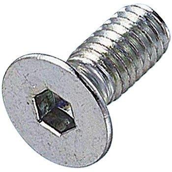 コノエ 六角穴付皿ボルト ユニクロメッキ 4x40 入数30