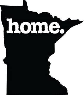 BD USA Home Minnesota State Design Vinyl Car Sticker Symbol Silhouette Keypad Track Pad Decal Laptop Skin Ipad MacBook Window Truck Motorcycle, Decal Sticker Vinyl Car Home Truck Window Laptop