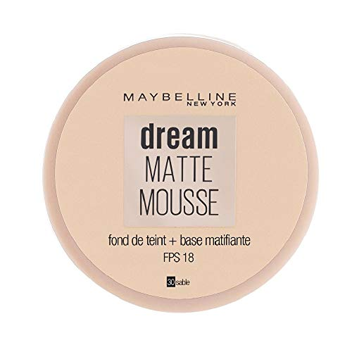 Maybelline Dream Matte Mousse Foundation 30 Sable/Sand by Maybelline