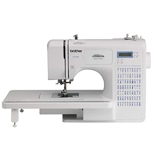 SYS Score: 9.5 Brother Project Runway CE7070PRW 70-Stitch Computerized Sewing Machine with Wide Table