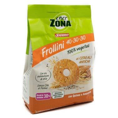 enerzona FROLLINI 40-30-30 Cereali Antichi 100% Vegetali Box da 9 Confezioni