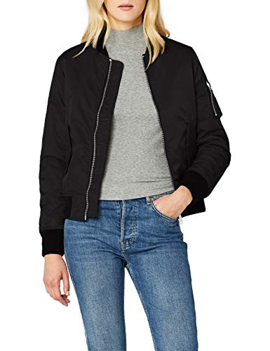 Brandit Damen Marcy Girls Bomberjacket Jacke, Schwarz (Black 2), Large