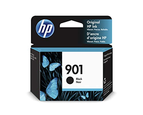 HP 901 CC653AE, Negro, Cartucho Original de Tinta, compatible con impresoras de inyección de tinta HP Officejet All-in-One 4500, J4580, J4680