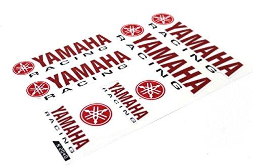 Aufkleber Satz Sticker Set Racing Yamaha Aerox Slider Jog R1 R6 Rot #24