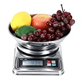 Balanzas digitales de cocina, conversión de unidades Balanzas de alimentos Balanzas de cocina para cafetería