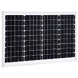 SHUJUNKAIN Panel Solar monocristalino Aluminio y Vidrio de...