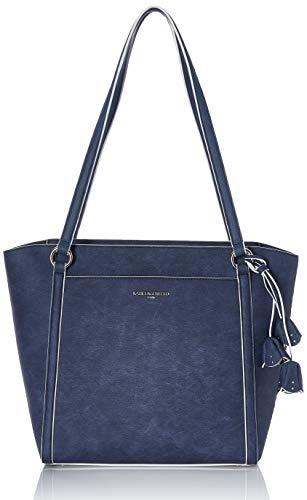 Karl Lagerfeld Paris Damen IRIS DENIM N/S TOTE Tragetasche, Dunkles Jeansblau, Einheitsgröße