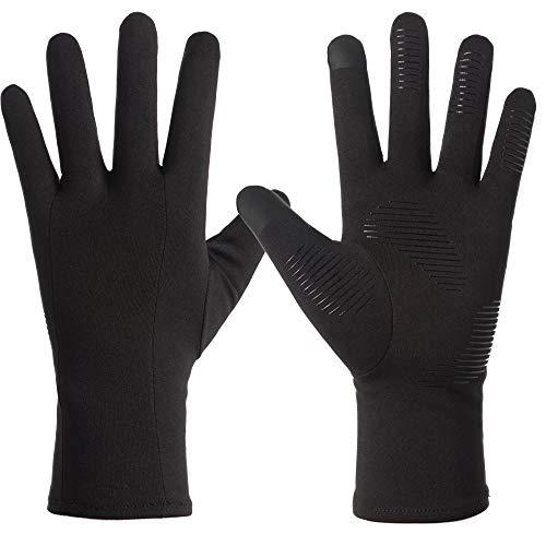 LPVLUX サイクリンググローブ タッチスクリーン 冬の手袋 厚いウォームグローブ 野外 クライミング ランニング スキーイング ライディンググローブ 男女向け