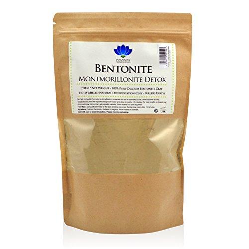 Bentonite Clay - 750g Packet - Pure Calcium Bentonite Detox