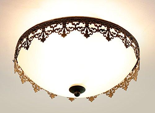 Home mall- Plafond Lumière Mode Creative Style Européen Enfants Chambre Étude Chambre Corridor Lampe E27 (taille : 45 * 20cm)