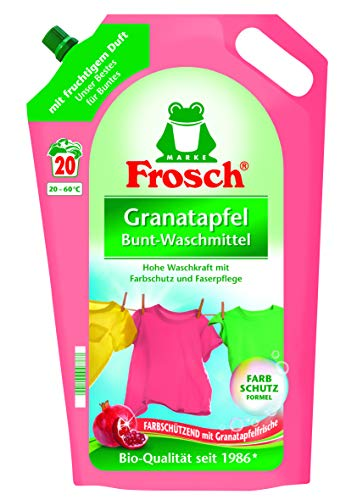 Frosch Granatapfel Color Waschmittel, 1800 ml