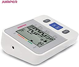 Jumper Automatic Arm Blood Pressure Monitor with LCD Display and Irregular Heartbeat Detection for Home and Medical Use CE Approved