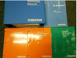 2000 Mazda B-Series Truck Service Repair Shop Manual HUGE SET FACTORY OEM BOOKS (Service Manual, the Electrical Wiring Diagram Manual, the 4.0L Engine Workshop Manual, the M50D Manual Transmission Workshop Manual, and the 4R44E/5R55E Automatic Transmission Workshop Manual.)
