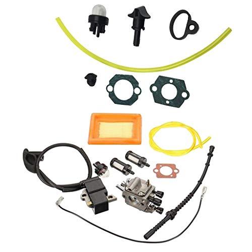 Carburador Filtro de Aire Choke Control Perilla Juntas Para FS120 FS200 FS250 R Nuevo Repuestos Carburador Reemplaza