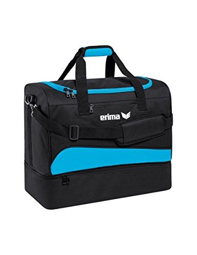 erima Sporttasche mit Bodenfach Sporttasche, 60 cm, 89 Liter, curacao/schwarz