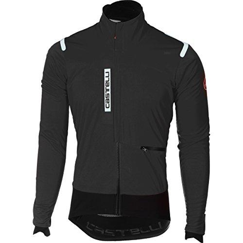 Castelli Alpha ROS Herren Rennrad-Jacke, Windstopper, Rennrad Jacket, Rennrad Winter Jacke (M)