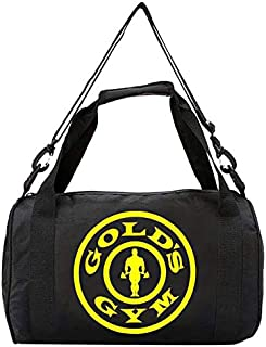 Hostel 14165595 Tshirt Gold's Gym Bag, 40 cm*25 cm Black