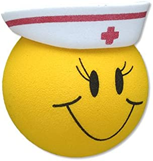Tenna Tops Happy RN Nurse Car Antenna Topper / Mirror Dangler / Desktop Spring Stand