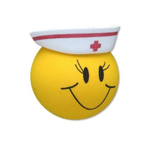 Tenna Tops Happy Nurse Car Antenna Topper / Mirror Dangler / Desktop Spring Stand Bobble