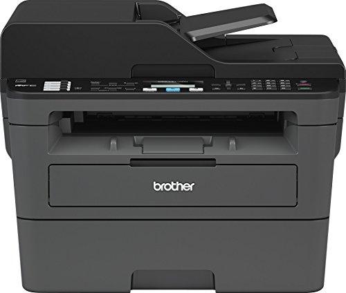 Brother mfcl2710dn Laser 4in 1Multifunktionsdrucker (A 30ppm mit drahtgebundenen Netzwerk, Duplex in Druck, ADF 50Blatt und Display LCD, italienische Version) schwarz/weiß