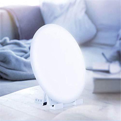 SUN JUNWEI Lampara Luminoterapia Sad Light 10000 Lux Sin UV 3 Color Ajustable 4 Función De Temporizador De Luz De Brillo para Oficina En Casa