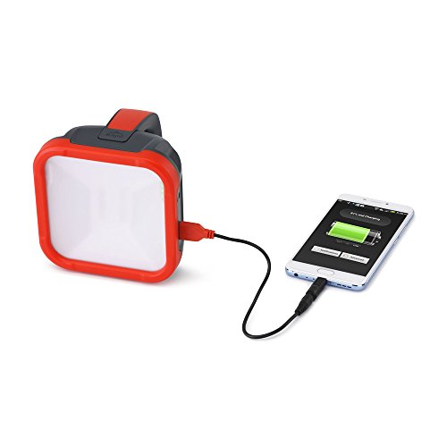 d.light S500 Solar Rechargeable Portable Lantern with Phone Charging – Light and Mobile Charger works as Study lamp,Emergency light,Solar lights,Solar lamp,Portable Light, solar lights for home