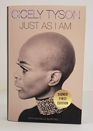 CICELY TYSON signed 'Just As I Am: A Memoir' Hardcover Book FIRST EDITION autographed