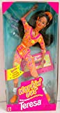 Barbie WORKIN' OUT TERESA DOLL w Suction Cup SHOES, Barbie MUSIC CASSETTE & More (1996)