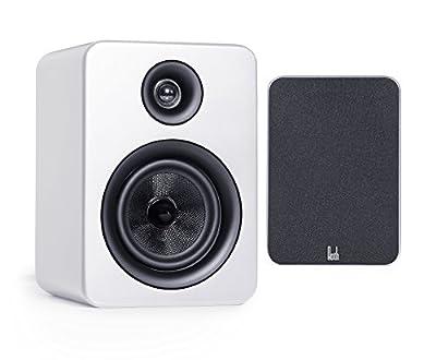 Roth Audio OLI RA1 2 Way Pair Of Bookshelf Design Speakers - White by Roth Audio
