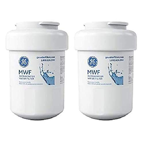 GЕ MWF GE Refrigerator Water Filter Replacement for GE MWF Smart Water Filters Cartridge, 2-Pack