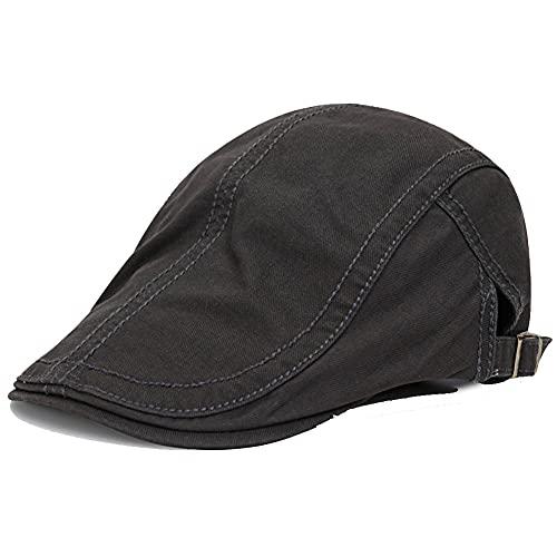 MAOZIm Herren Baskenmütze Mode Peaked Cap Herren lässige Sommer Forward Cap Baskenmütze