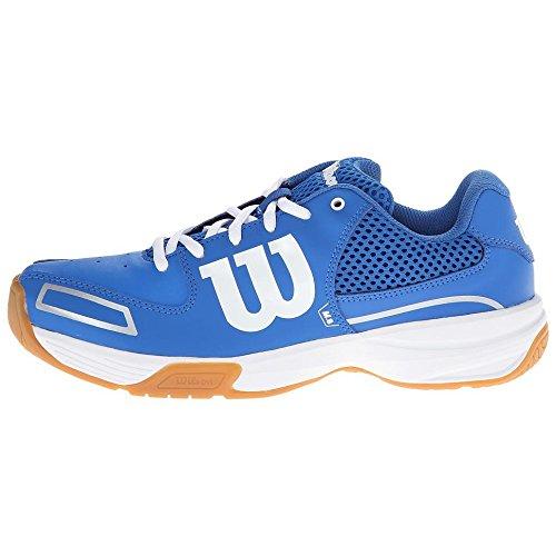 WILSON Wilson RECON Herren Tennisschuhe, Blau (New Blue/New Blue/White), 36 1/3