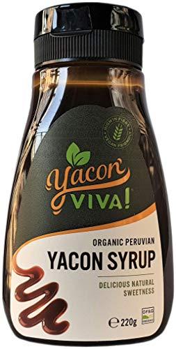 YaconViva! Bio-Yacon-Sirup aus Peru - Der gesündeste, natürliche Süßstoff (220g)