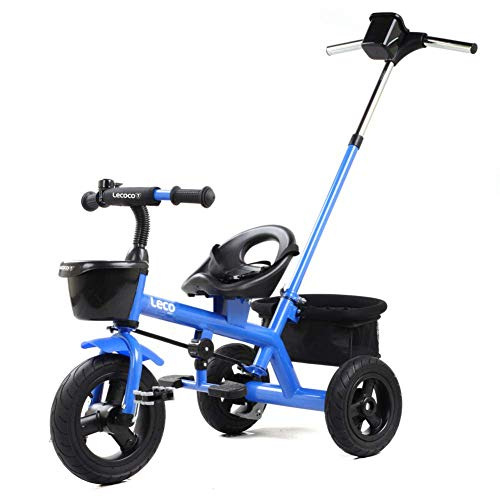 Find Bargain Zjnhl Children's Fun/Children Kids Tricycle Trike Stroller First Bike 2 In1 WiRemovable...