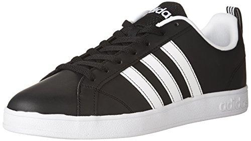 Zapatillas Adidas Vs Advantage para hombre, Negro (Negro, blanco, blanco), 44 EU