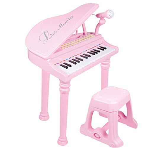NECZXW1 31 Tasten Musikspielzeug, Tastaturorgel Elektronische Orgel für Kinder, Abs-Kunststoff, Doppelstromversorgung, Energiesparsystem mit automatischer Umschaltung