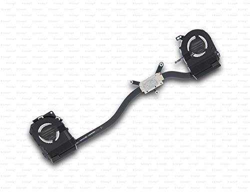 X-Comp CPU Fan Cooler Heatsink 5H40K48422 for Lenovo Ideapad Yoga 900-13ISK Type 80MK 80SD Series