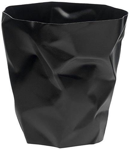 Essey Papierkorb Mülleimer Bin Bin, schwarz, Polyethylen HD (HDPE), Classic