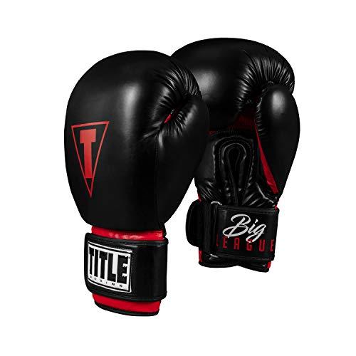 Title Boxing Big League XXL Bag Gloves, Black, 20 oz