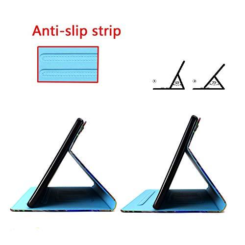 Bspring Huawei Mediapad T3 10 Hülle Case - Ultra Dünn Superleicht Flip Schutzhülle mit Zwei Einstellbarem Standfunktion für Huawei MediaPad T3 (9,6 Zoll) Tablet-PC,Hirsch - 8