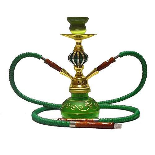 CJCJ-LOVE Pipa de Agua, Botella de Cristal Coloreado árabe, Creativo decoración, Muebles, Botella Decorativa,E