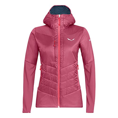 Salewa W Ortles Hybrid Tirol Wool Responsive Jacket Pink, Damen Winterjacke, Größe 40 - Farbe Mauvemood